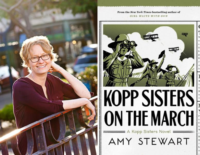 Amy Stewart, Kopp sisters on the march