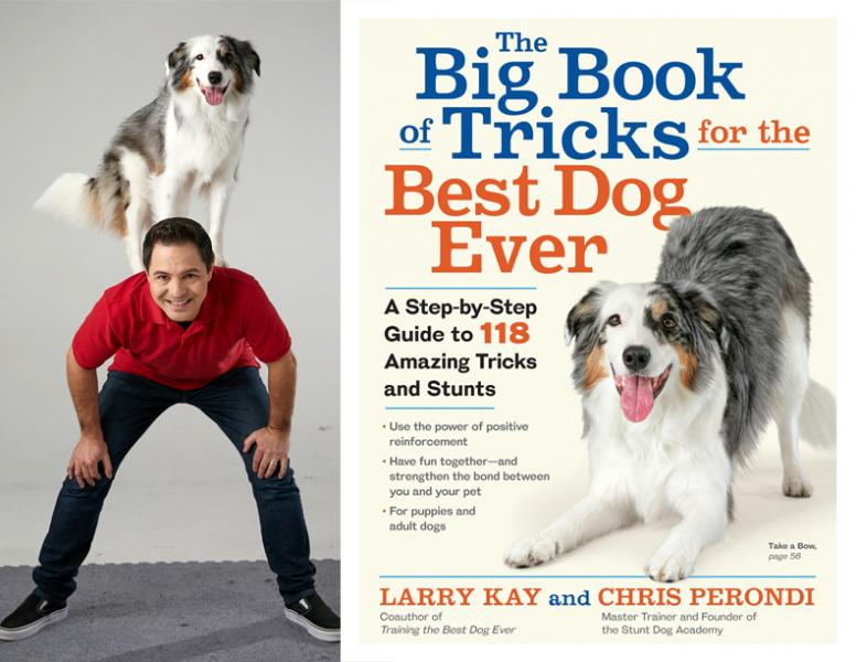 Chris Perondi and Vinny, The Big Book of Tricks for the Best Dog Ever