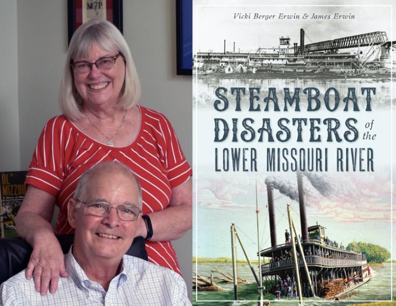 Vicki Berger Erwin, James Erwin, Steamboat Disasters of the Lower Missouri River