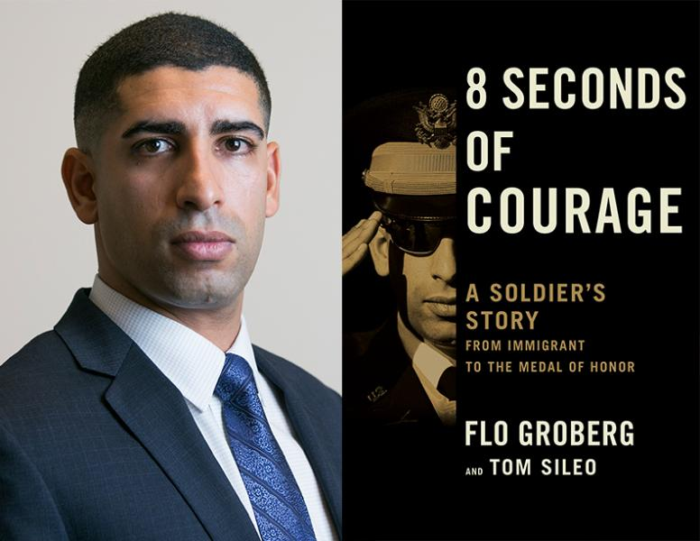 Flo Groberg, 8 Seconds of Courage, Left Bank Books