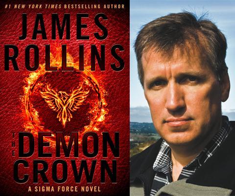 james rollins  James Rollins: Demon Crown   Left Bank Books