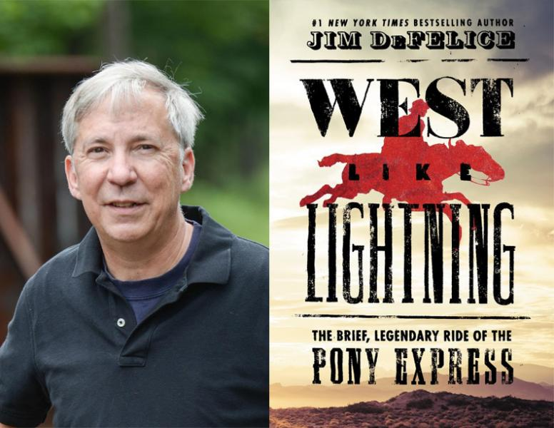 Jim DeFelice, West Like Lightning