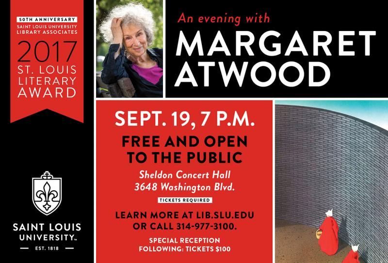 Margaret Atwood, SLU Library Associates, Left Bank Books