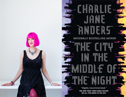 Charlie Jane Anders, The City in the Middle of the Night, Left Bank Books