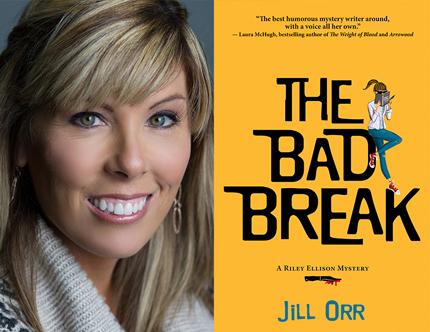 Jill Orr, The Bad Break, Left Bank Books