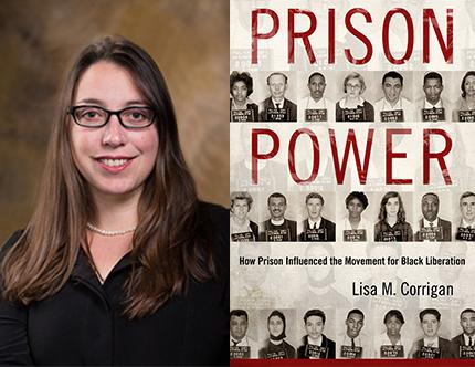 Dr. Lisa Corrigan, Prison Power, Left Bank Books