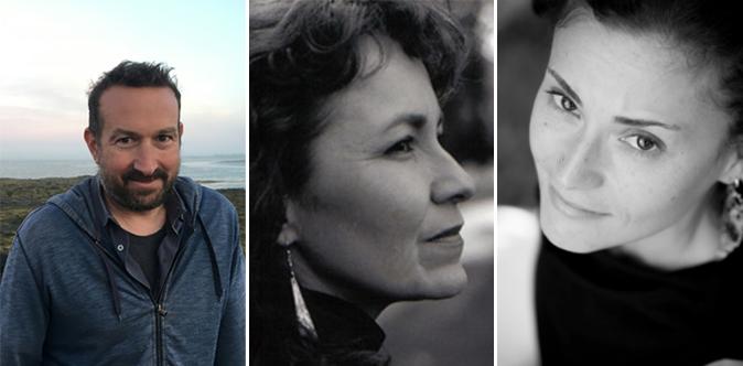 Peter Coviello, Kimberly Blaeser & Andrea Scarpino