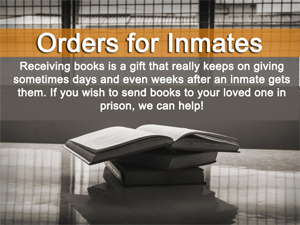 We ship books to penitentiaries.