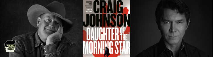 Craig Johnson with Lou Diamond Phillips - Daughter of the Morning Star